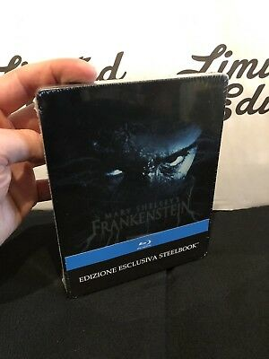 Frankenstein di Mary Shelley's -blu ray-STEELBOOK-limited-ITA,ENG,SPA-new