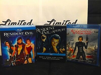 Resident evil collection-BLU RAY-5 film+steelbook-+ COFANETTO