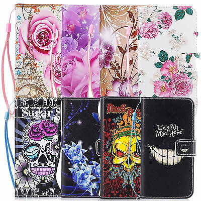 PU Leather Book Side Wallet Card Flip Case Cover For Samsung Galaxy J5 (2017)