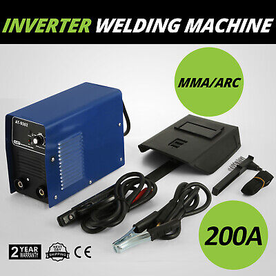 AT-9302 200Amp Compact Electrode Welding Machine 4.5mm / Inverter Welder MMA ARC