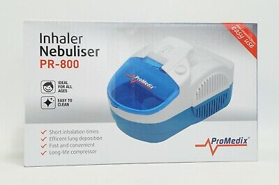 Inhalator Inhaliergerät Aerosol Therapie Inhalation Kompressor mit Solenebel TOP