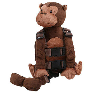 Anti-lost Plush Backpack Safety Harness Adjustable Practical Child Monkey Leash