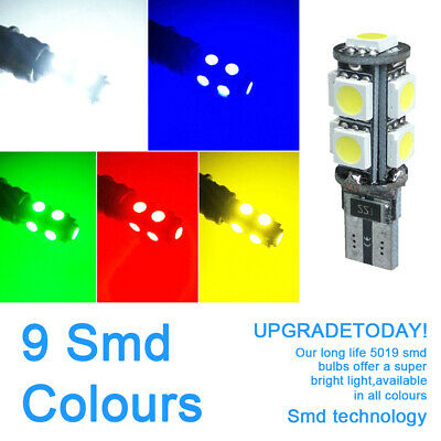New 10 Veilleuses LED W5W T10 Canbus ANTI ERREUR ODB 6500k 5050 SMD Voiture Moto