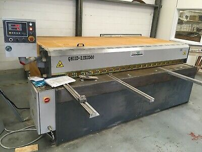 Truecut 3.2mm x 2500mm Metal Shear Plate Guillotine, Year 2016, Inc Vat