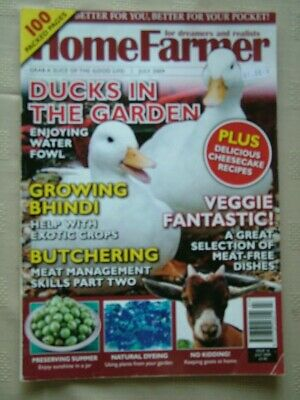 HOME FARMER / jULY 2009 / DUCKS IN THE GARDEN