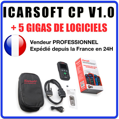 ✅ VALISE DIAGNOSTIC ICARSOFT CP V1.0 - Compatible Peugeot & Citroën - Français