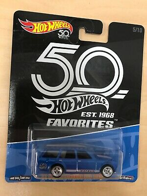 Hot Wheels 50th Favorites 71 Datsun Bluebird 510 wagon car culture