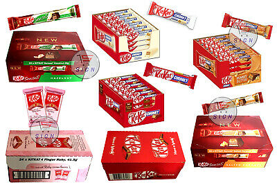 Kitkat Chunky/ White/ Peanut Chocolate Collection Original  - 2/4/8/12/24 Bars