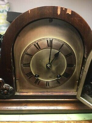 Vintage Mantel Clock by Winterhalder Hofmeier T/S Mantel Clock
