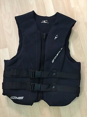 """O'Neill Outlaw Comp Waterskiing Wakeboard Impact Vest Padded Neoprene 38"""" Chest"""