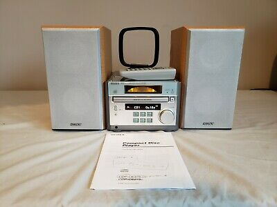 Micro Sony HiFi Stereo Receiver HCD-RB5  AM/FM & CD With Remote & Manual
