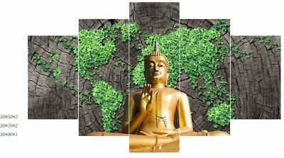Wall Decor Art Oil Painting On Canvas Abstract BUDDHA Modern No Frame