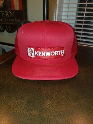 Vintage 1970s KENWORTH TRUCKS Trucker Hat