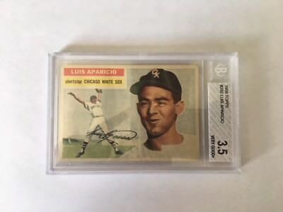 1956 Topps Luis Aparicio 292 HALL OF FAME. ROOKIE Card . ALL TIME GREATEST SS