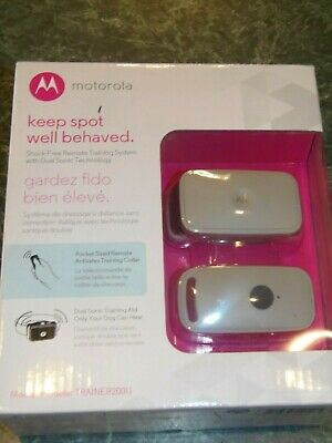 NEW Motorola Shock-Free Remote Training System with Dual Sonic Technology (98)