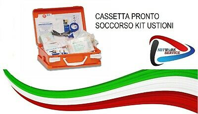 Cassetta Pronto Soccorso Kit Ustioni
