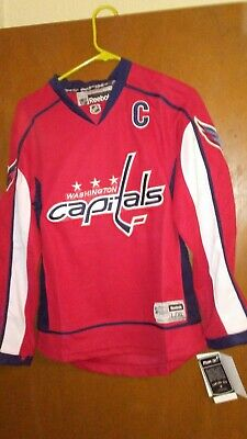 d21c7347c52 Washington Capitals Alex Ovechkin   8 Jersey NHL Reebok New with tags. kids  L