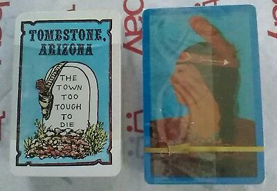 Playing Cards Tombstone Arizona