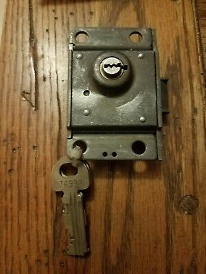 Vintage WESTERN ELECTRIC Pay Phone Payphone 3 SLOT Lock with 2 keys 30 C
