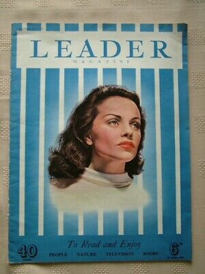 Leader Magazine / 23 April 1949 / To Read And Enjoy