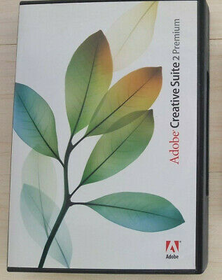 ADOBE CS2 PREMIUM MAC w/ Full License - Photoshop Illustrator Acrobat 7 InDesign