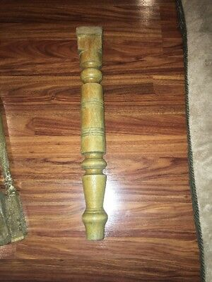 Vintage 1900s Victorian Leg Salvaged Piece