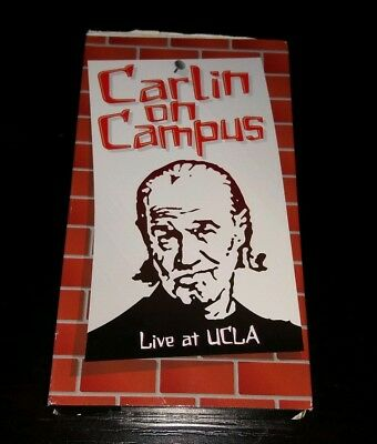 Carlin On Campus VHS George Stand Up Comedy Rare
