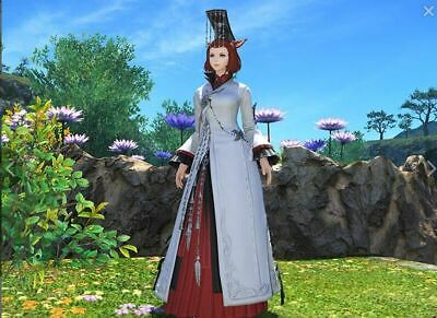 FINAL FANTASY XIV FFXIV FF14 Item Character Far Eastern Noble's Attire