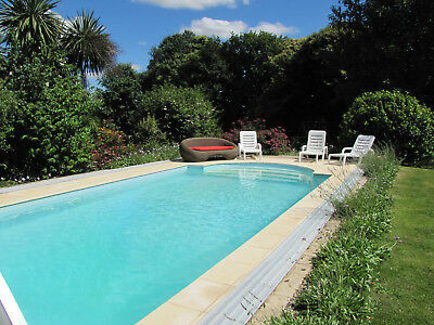 SUMMER HOLIDAY FRENCH COTTAGE GITE BRITTANY Sleeps 4 POOL GARDENS 7 NIGHTS £780