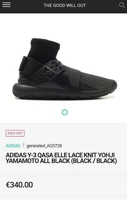 f478c25c544e3 2015 Y3 W Qasa Elle prime knit supreme quality sold out very hard 2find  size UK9
