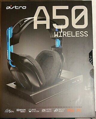 Astro Gaming - A50 Wireless Dolby 7.1 Surround Sound Gaming Headset for PS4 PC