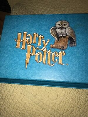 Harry Potter Stationary Set Stickers Stamp Address Book Boxed Set