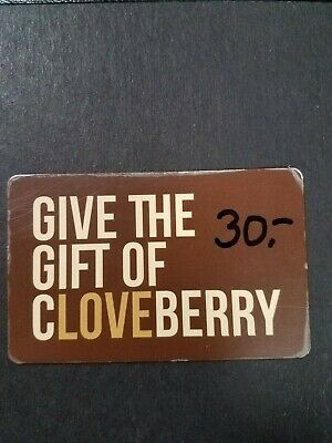 Cloveberry Sparta, Nj $30 Gift Card Save 20% Only $23.99 Physical Delivery Only