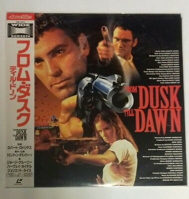 Laserdisc From Dusk Till Dawn  Japan Ntsc With  Obi