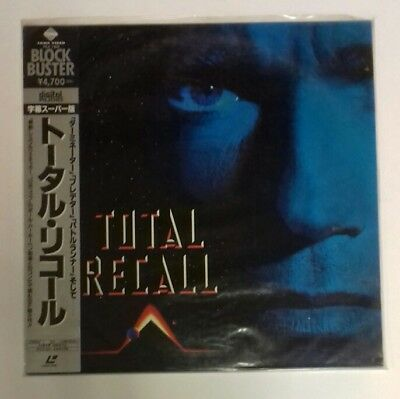 Laserdisc Total Recall (Desafio Total ) Japan Ntsc With  Obi