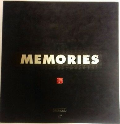 Laserdisc Memories Box And Three Laserdisc Japan Ntsc With  Obi