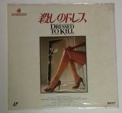 Laserdisc Dressed To Kill Japan Ntsc With  Obi
