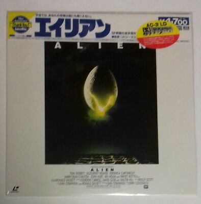 Laserdisc Alien Japan Ntsc With  Obi