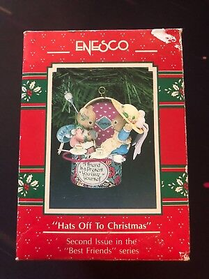Hats Off To Christmas.1991 Hats Off To Christmas Second Issue In The Best Friends