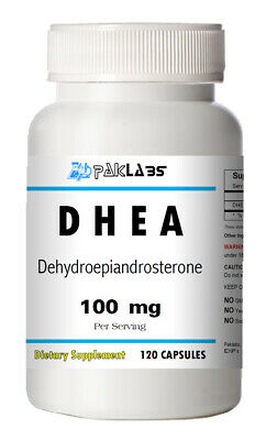 DHEA 100mg 120 Capsules 3 Month Supply Diet Supplement Antioxidant FAST SHIPPING