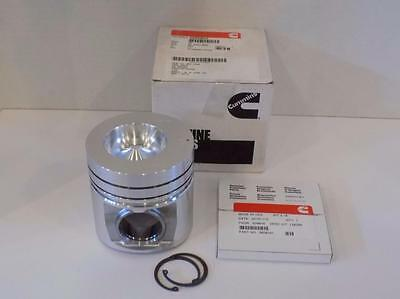 Cummins 3802062 OEM Piston Kit Diesel- Piston+Rings+Pin Clips .50MM