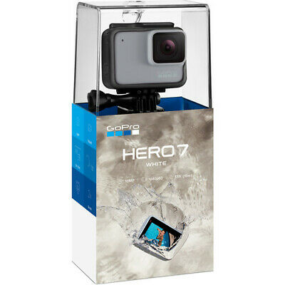 GoPro HERO7 White Waterproof Action Camera, Touch Screen, 1440p HD Video