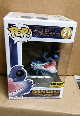 Funko Pop Chupacabra Fantastic Beasts crimes of grindelwald hot topic exclusive