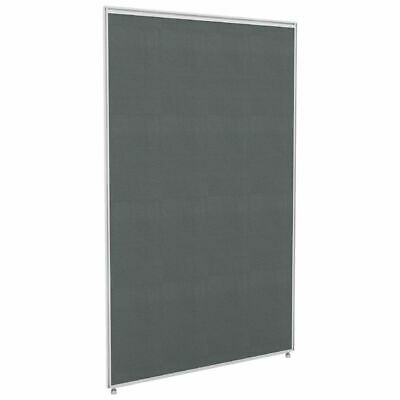 Partition Screen 1500 x 1400 White Frame Grey Fabric