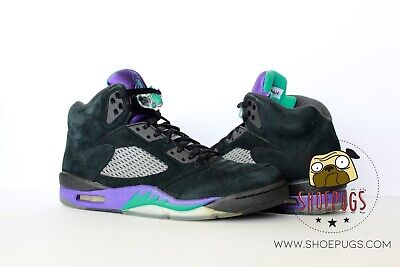 e4d60809b42a14 2013 Air Jordan Retro 5 Black Grape sz 11 w  Box emerald