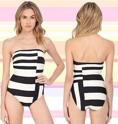 Kate Spade New York Balboa Island Maillot One- Piece Color Block Swimsuit  M