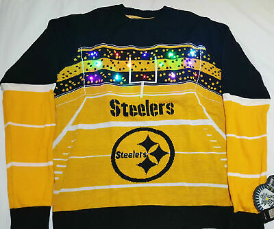 hot sale online 2da85 c2e84 NFL MENS LIGHT Up Ugly Christmas Sweater - $54.95 | PicClick
