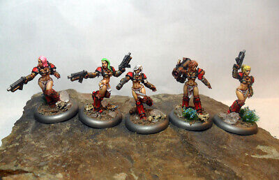PRODOS GAMES SPACE Crusade Miniatures 28mm Heroic - 40k Adepta