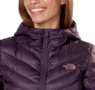 507fbbb511d0 The North Face Women s Trevail Parka Hoodie Jacket Dark Eggplant Size S-M  NWT!