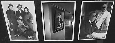 JAMES JOYCE - Set of 3 photo post cards - New, vintage B&W photos. Out of print.